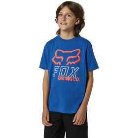 Fox Hightail SS Tee Youth, niebieski